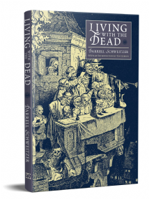 Living With The Dead [hardcover] by Darrell Schweitzer